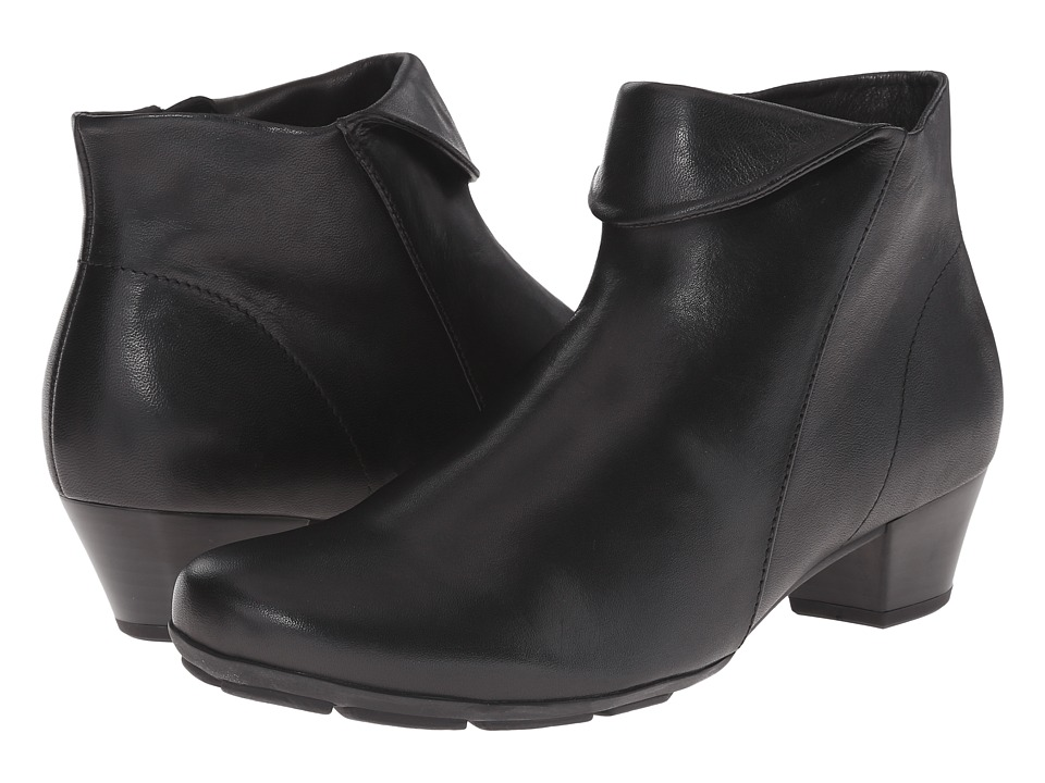 Gabor - Gabor 35.635 (Black Foulardcalf) Women
