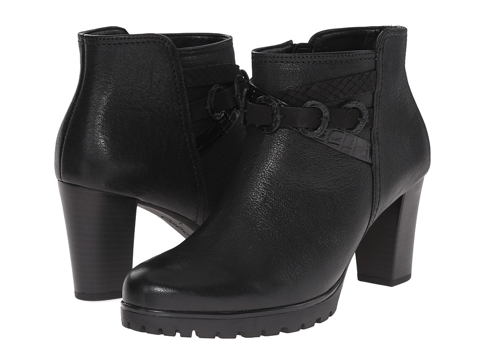 Gabor - Gabor 35.774 (Black Bombi Ranch Nappa) Women