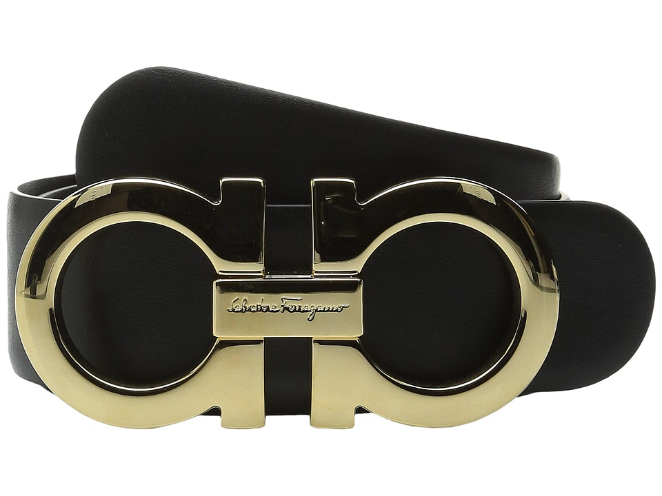 Salvatore Ferragamo - Ceylon Belt (Nero) Women's Belts