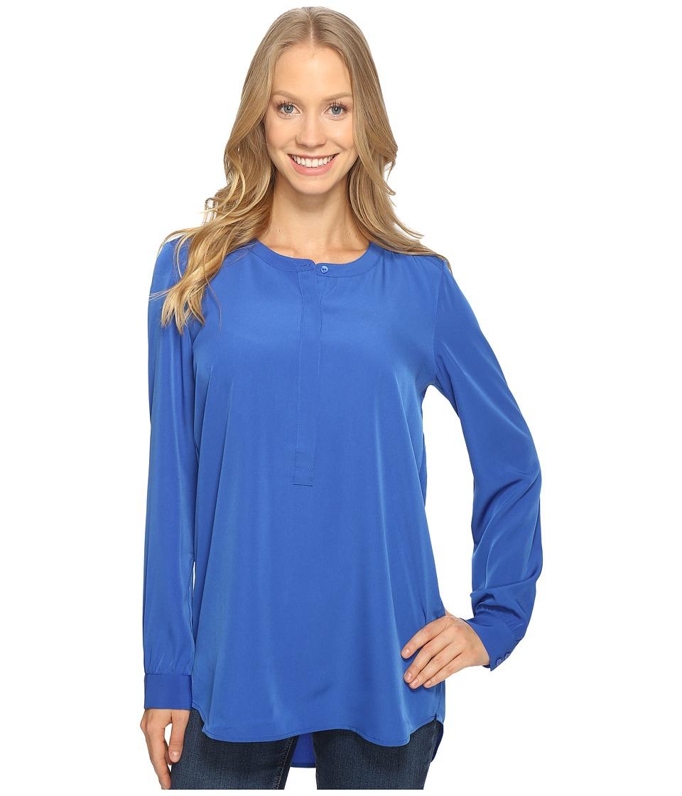 NYDJ - Woven Tunic (Azul) Women's Blouse