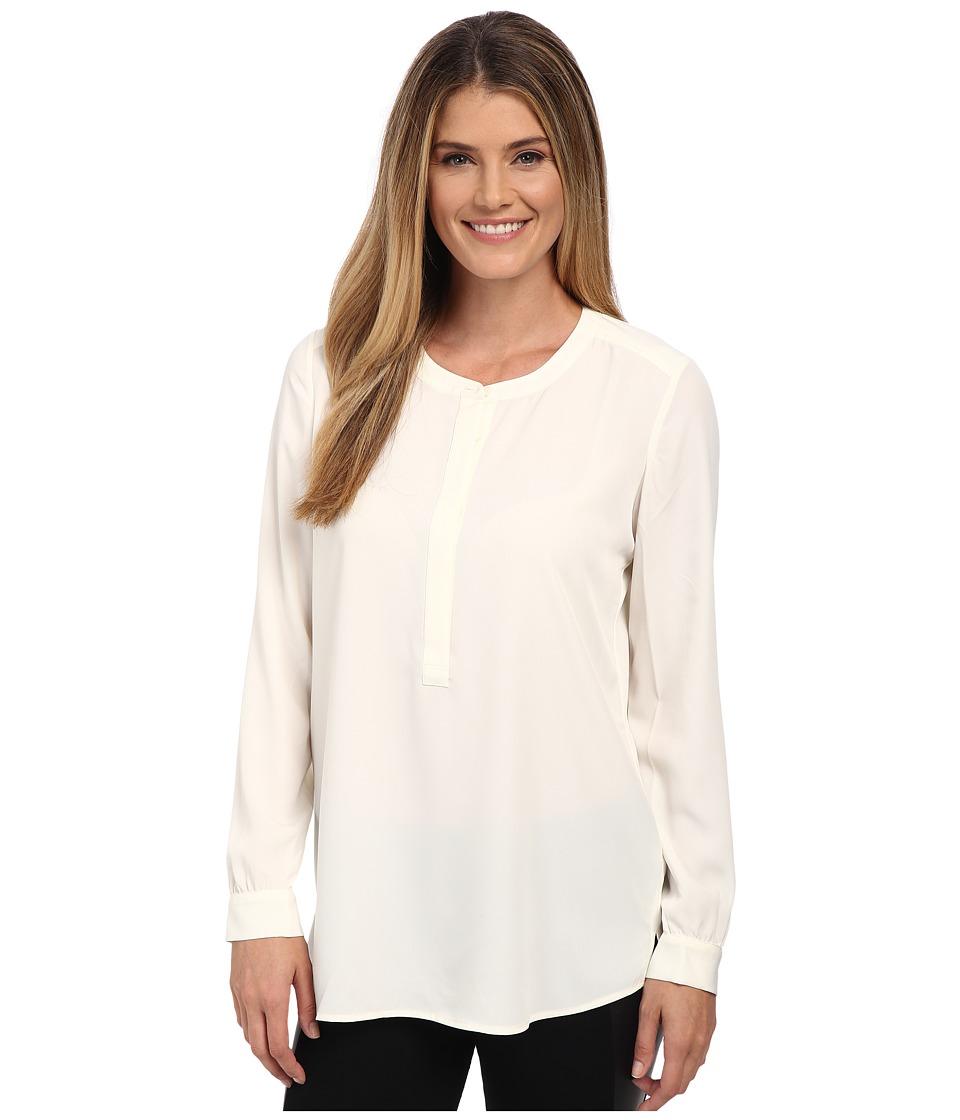 NYDJ - Woven Tunic (Vanilla) Women's Blouse