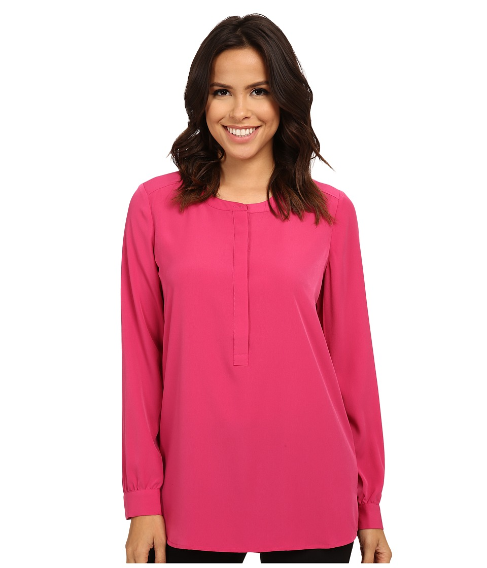 NYDJ - Woven Tunic (Pink Rose) Women's Blouse