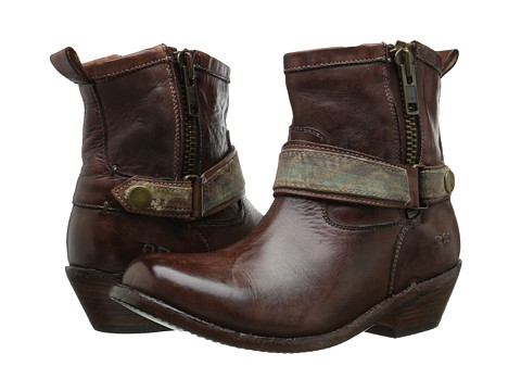 Bed Stu - Triple (Teak Rustic Leather) Women's Boots