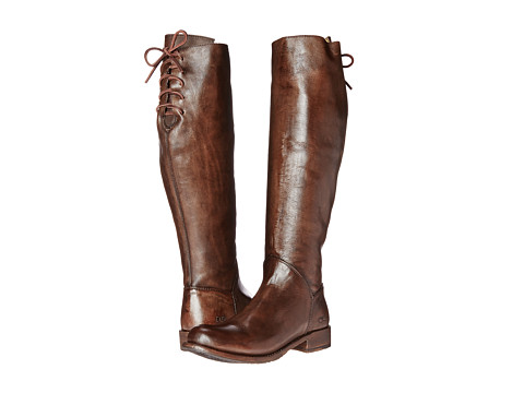 Bed Stu - Manchester (Teak Glaze Leather) Women's Zip Boots