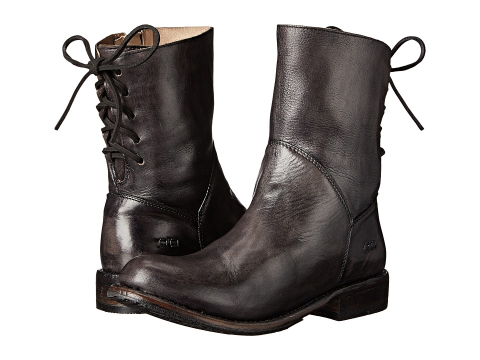 Bed Stu - Cheshire (Black Glazed Leather) Women's Boots