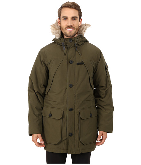 Penfield - Hoosac Hooded Down Mountain Parka (Lichen) Men's Coat