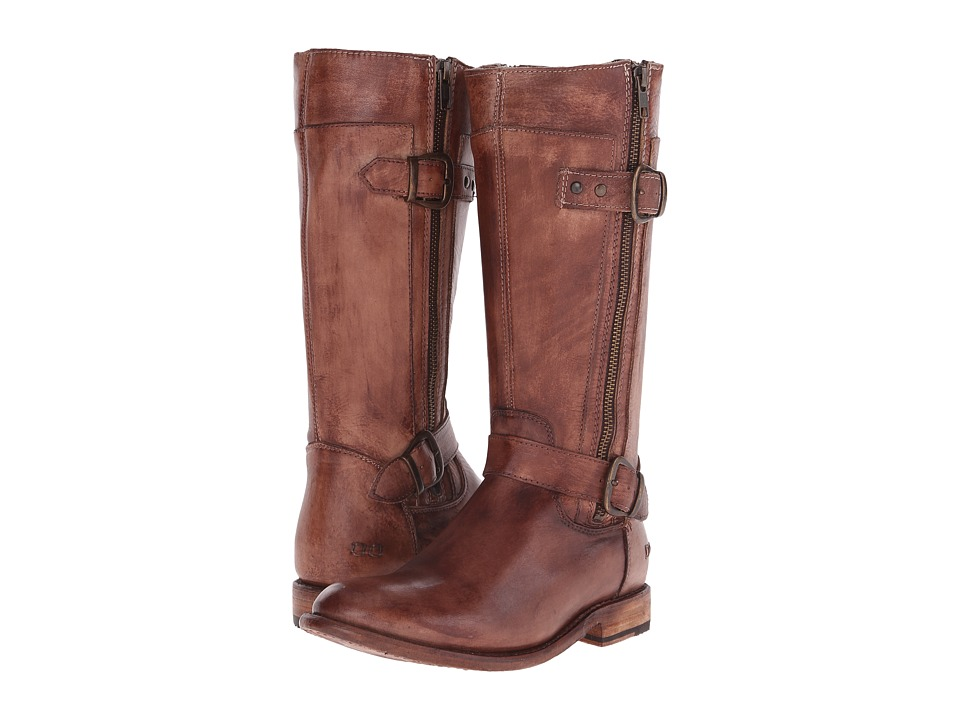 Bed Stu - Gogo (Teak Driftwood Leather) Women's Zip Boots
