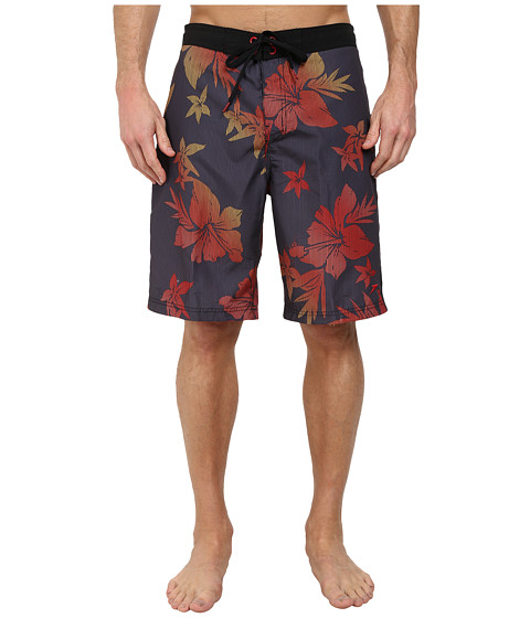 Speedo - Ombre Floral E-Board Bottoms (Granite) Men