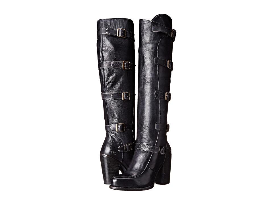 Bed Stu Statute (Black Rustic Leather) Women