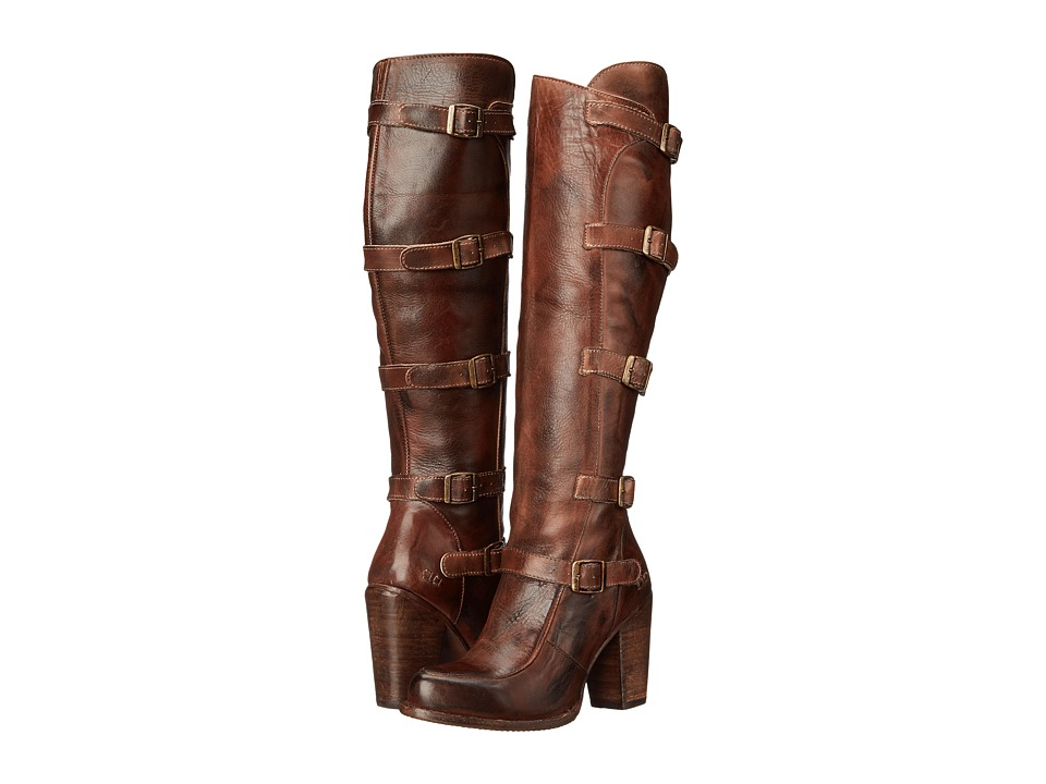 Bed Stu - Statute (Teak Rustic Leather) Women's Zip Boots