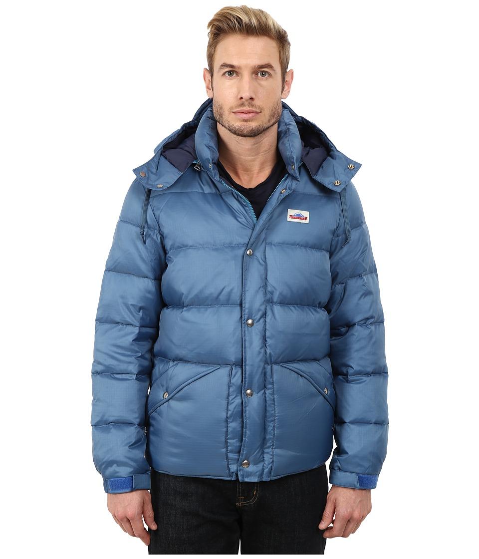 Penfield - Bowerbridge Down Insulated Hooded Jacket (Petrol) Men's Coat
