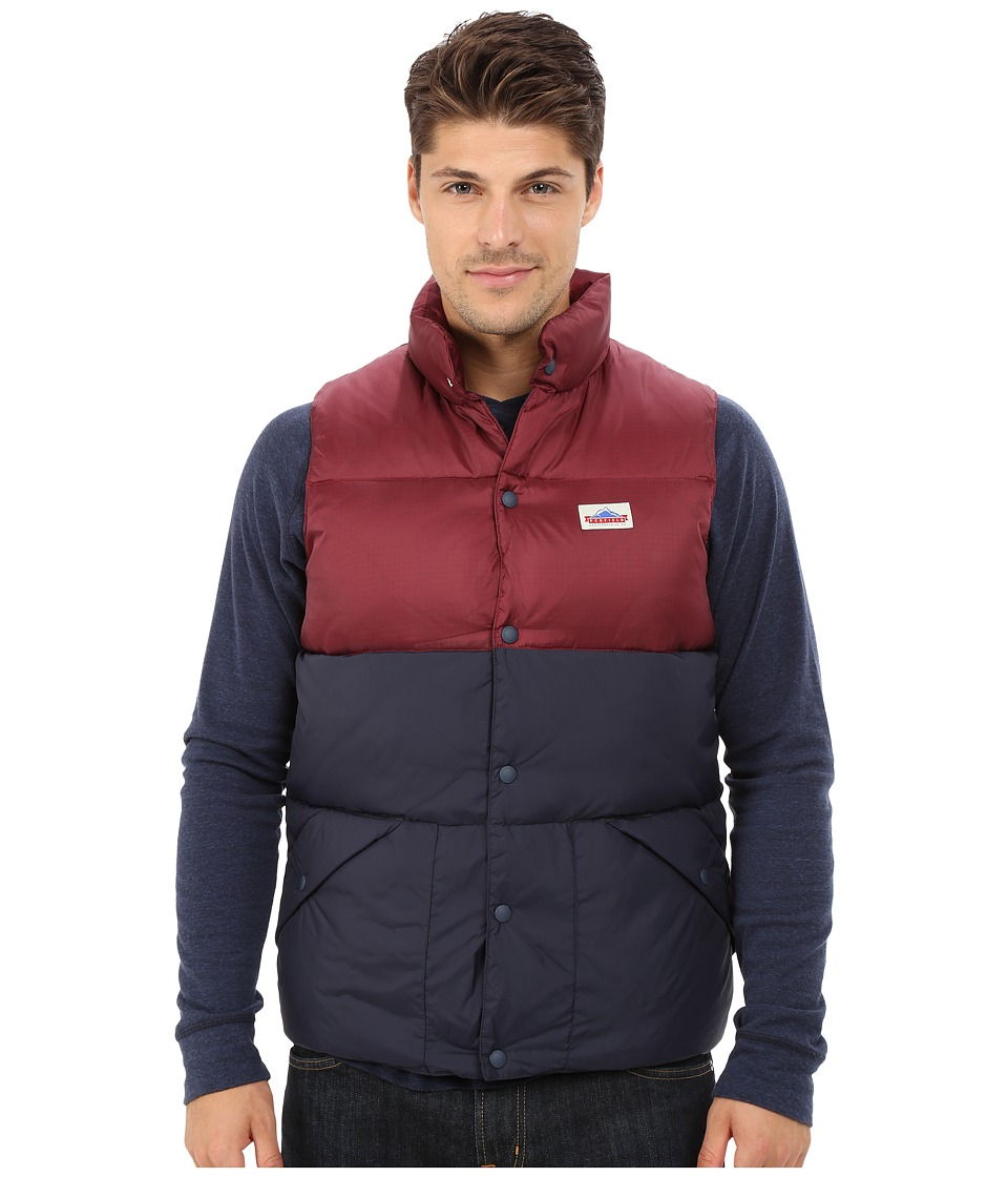 Penfield - Outback Down Vest (Burgundy) Men's Vest