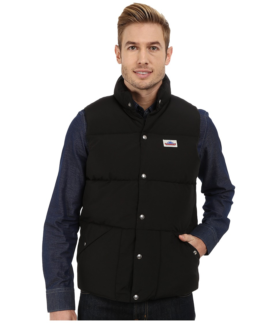 Penfield - Outback Down Vest (Black) Men's Vest