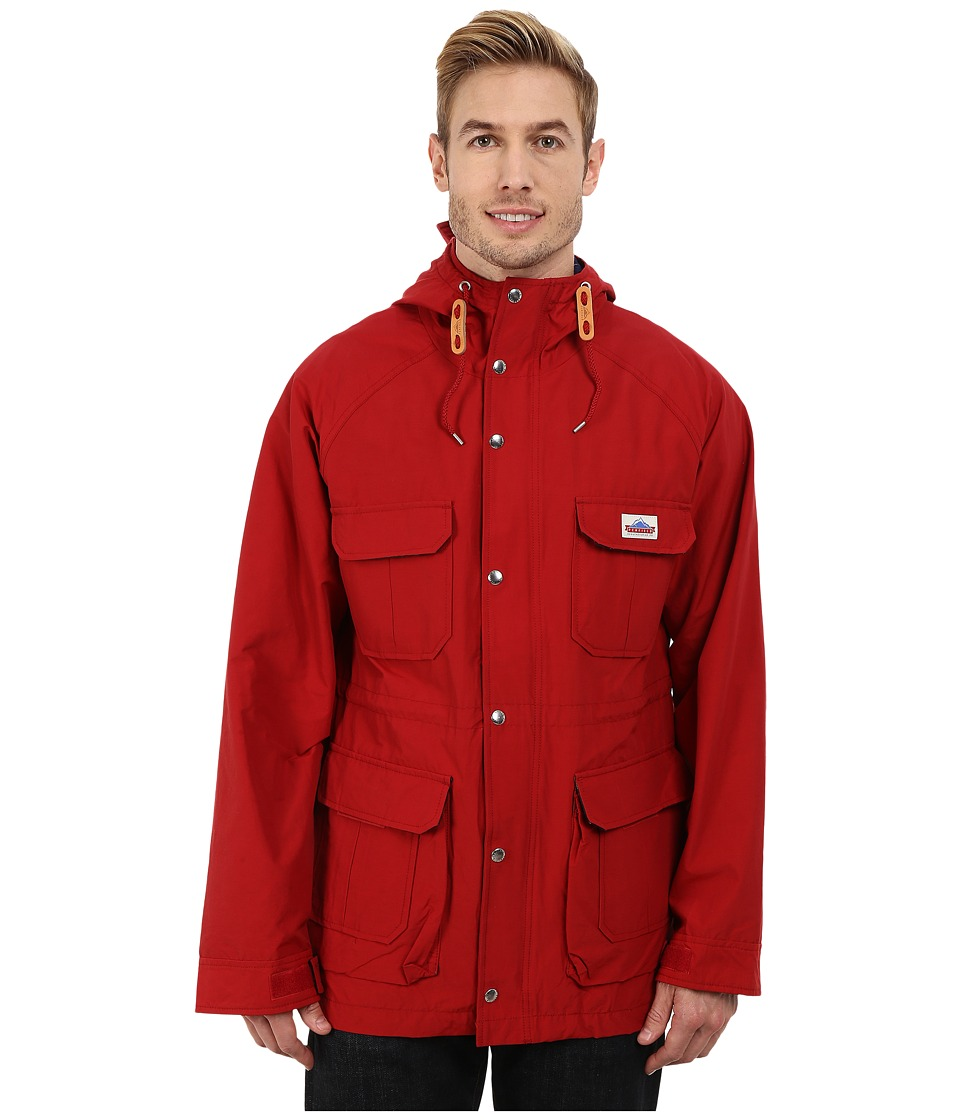 Penfield - Kasson Hooded Mountain Parka (Deep Red) Men's Coat