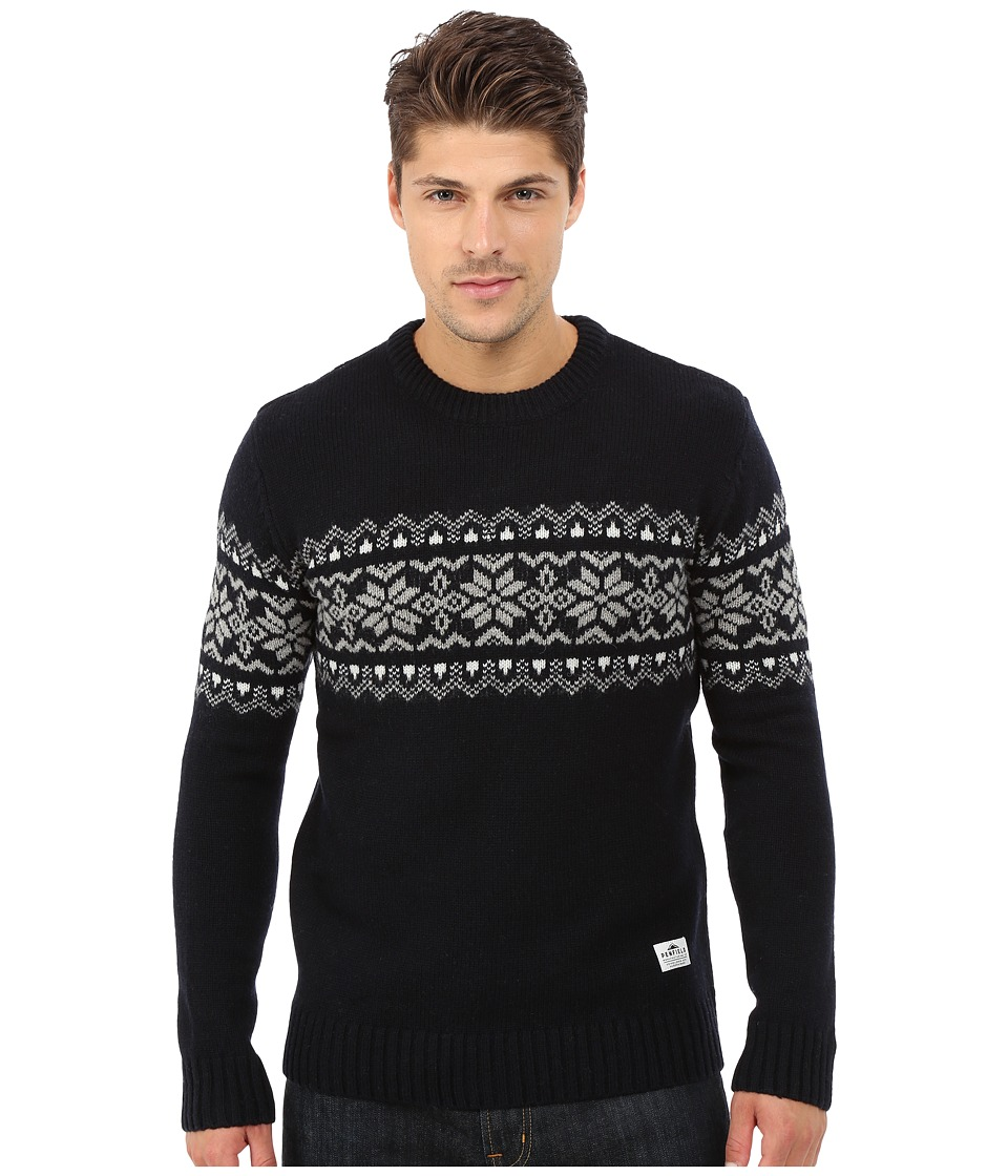 Penfield - Hickman Snowflake Crew (Navy) Men