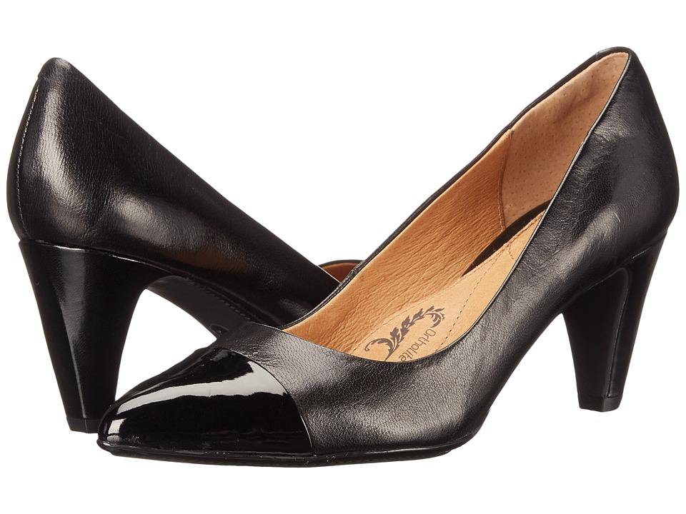 Sofft - Tansy (Black River Kid/Patent) Women's 1-2 inch heel Shoes