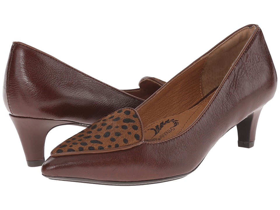 Sofft - Varney (Sturdy Brown/Cocoa Venice/Cheetah Print) High Heels