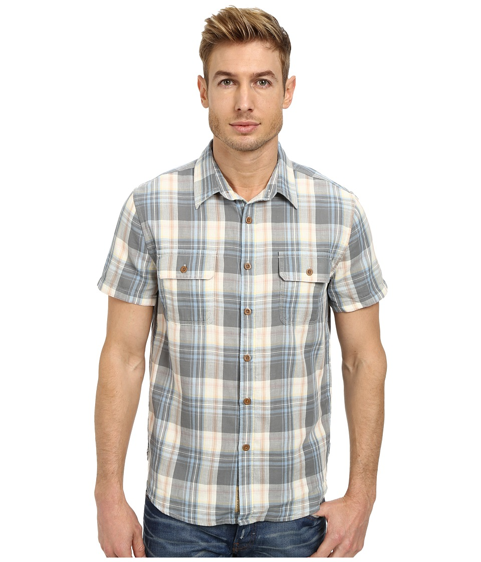 Lucky Brand - Stinson Workwear Shirt (Grey Plaid) Men's Clothing