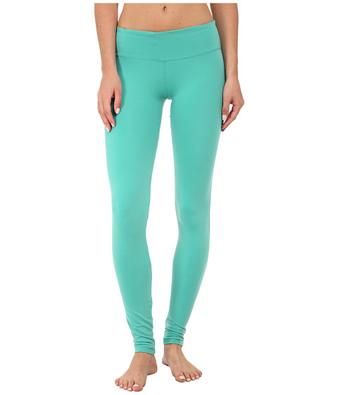 COZY ORANGE - Leo Fitted Pants (Sea Green) Women's Workout