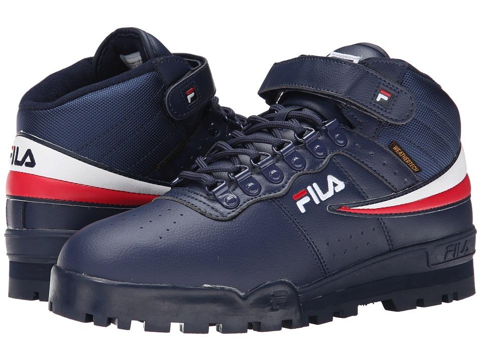 fila men s shoes. fila f-13 weather tech (fila navy/white/fila red) men\u0027s shoes men s r
