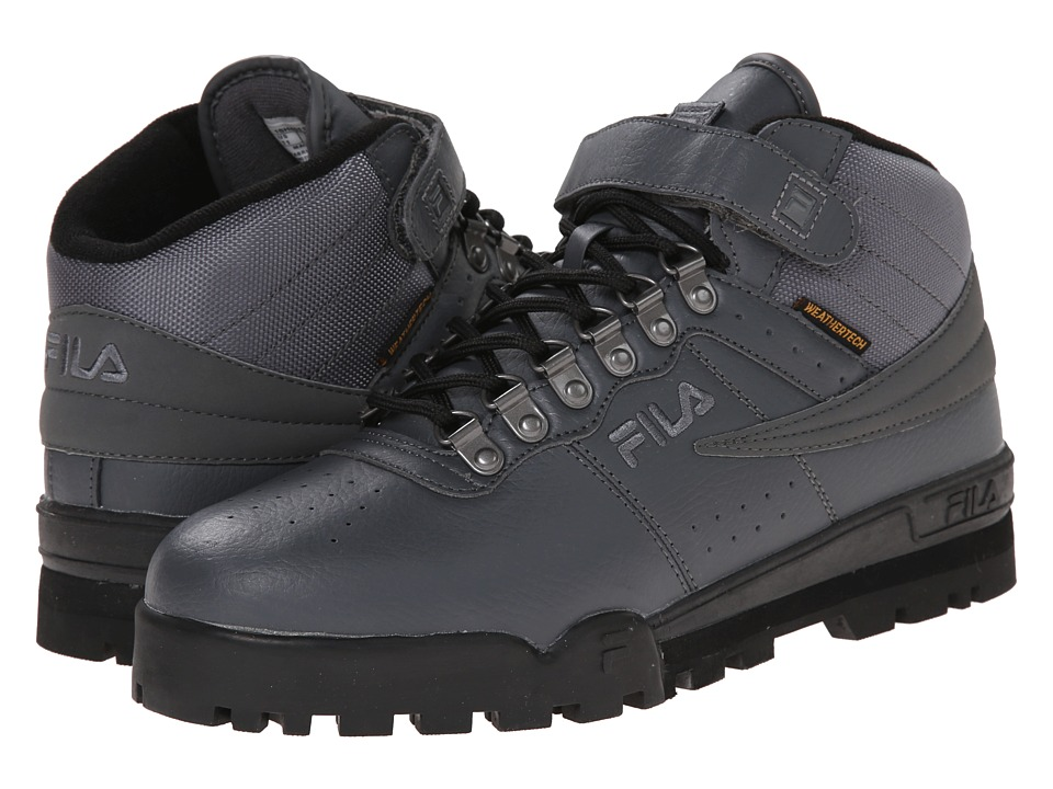 Fila - F-13 Weather Tech (Castlerock/Black/Dark Silver) Men's Shoes