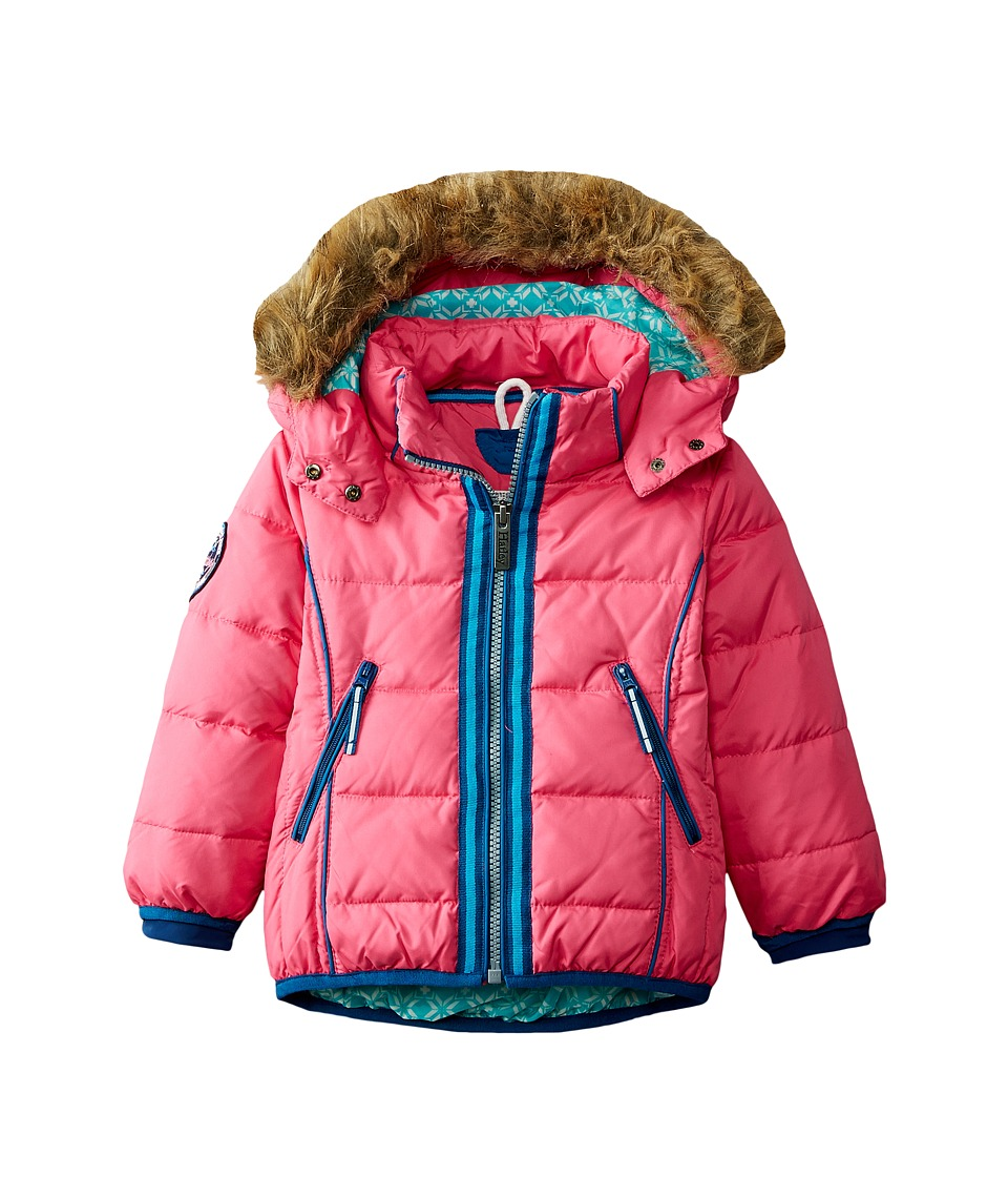 Hatley Kids - Snow Flakes Down Filled Jacket (Toddler/Little Kids/Big Kids) (Pink) Girl's Coat