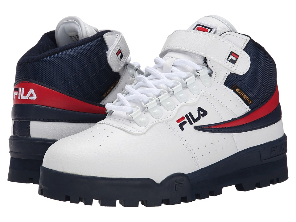 Fila F-13 Weather Tech (White/Fila Navy/Fila Red) Men