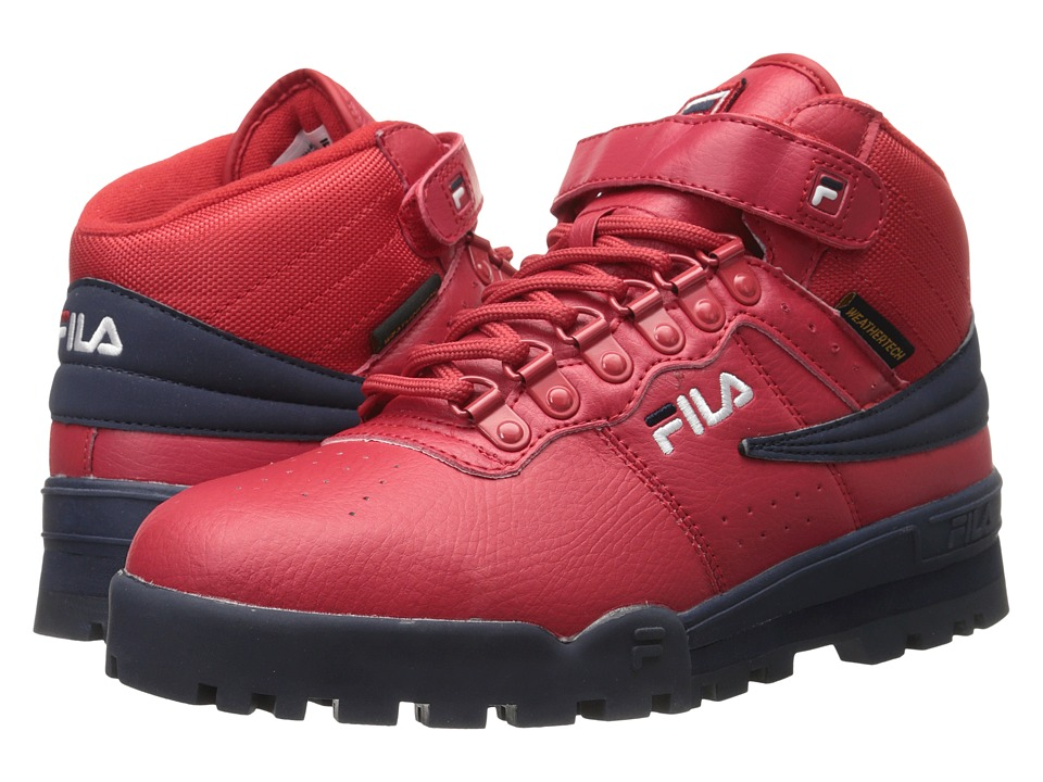 Fila - F-13 Weather Tech (Fila Red/Fila Navy/White) Men's Shoes