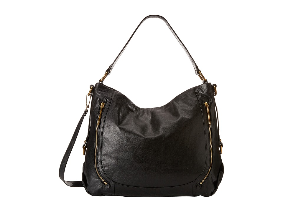 Elliott Lucca - Iara City Hobo (Black 1) Hobo Handbags