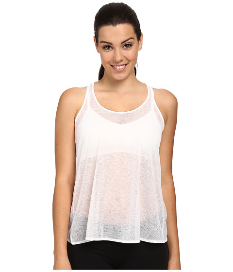 COZY ORANGE - Chloe Top (Optic White) Women's Sleeveless
