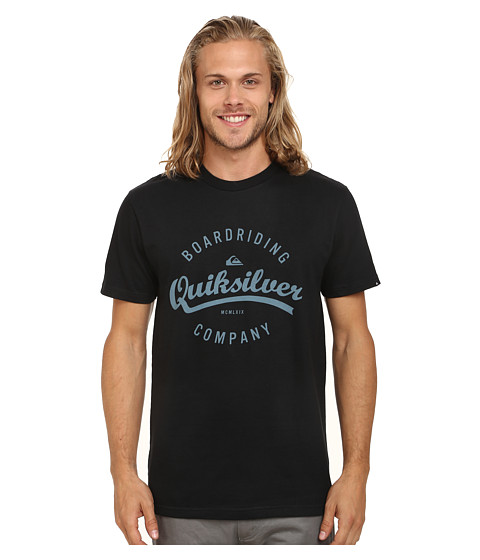 Quiksilver - Ballpark Tee (Black) Men's T Shirt