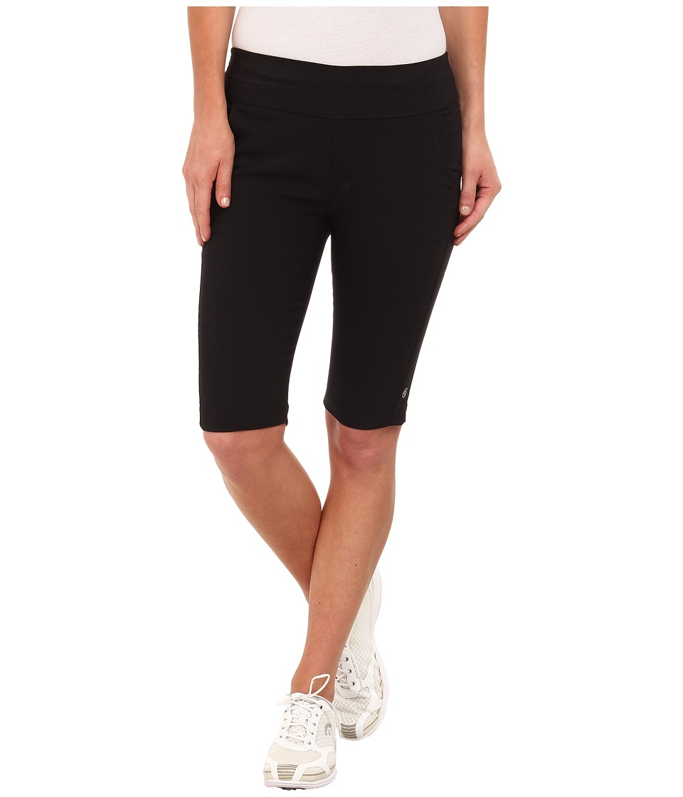LIJA - Best Friend Knee Shorts (Black) Women's Shorts