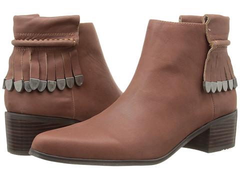 Grey City - Wilma (Cognac) Women's Zip Boots