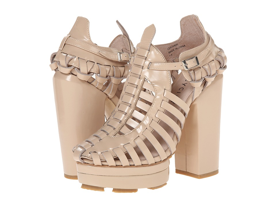 Grey City - Chloe (Ivory) High Heels