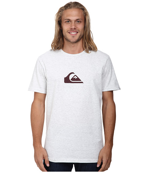 Quiksilver - Mountain Wave Tee (Snow White Heather) Men's T Shirt