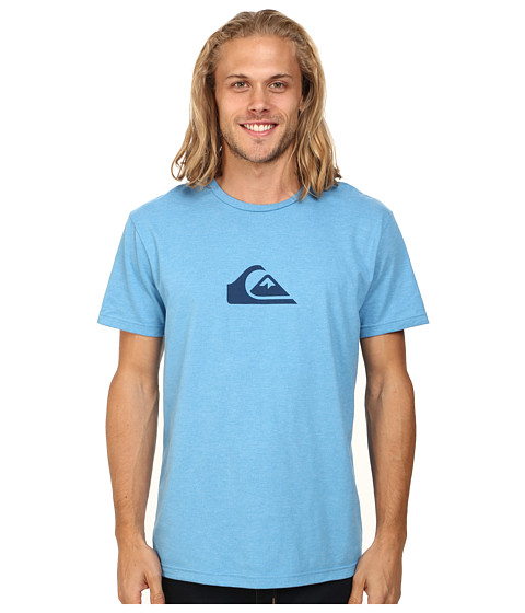 Quiksilver - Mountain Wave Tee (Deep Water Heather) Men's T Shirt