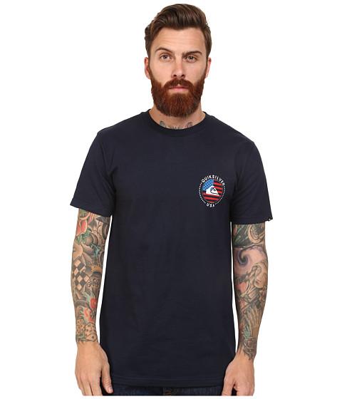 Quiksilver - Kaboom Tee (Navy Blazer) Men's T Shirt