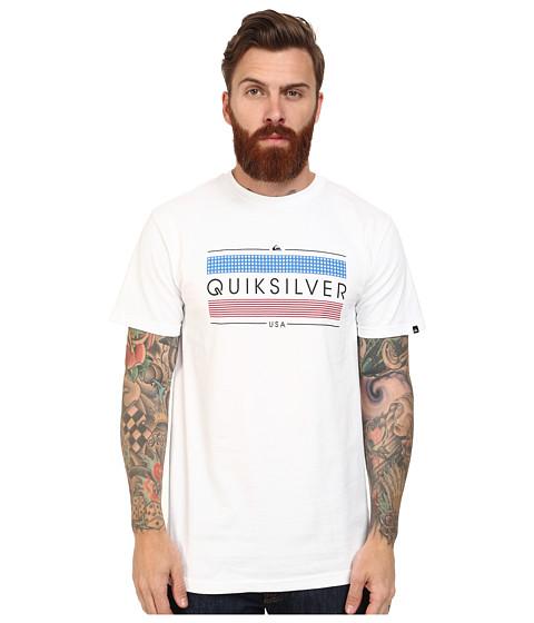 Quiksilver - Sparkler Tee (White) Men's T Shirt