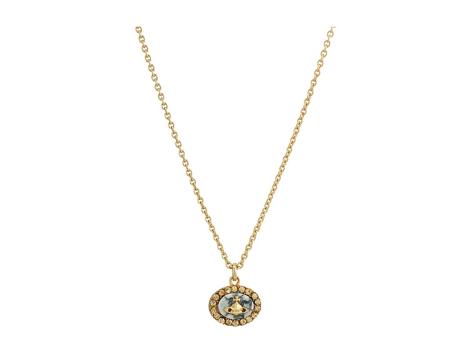Vivienne Westwood - Giselle Pendant (Light Colorado) Necklace