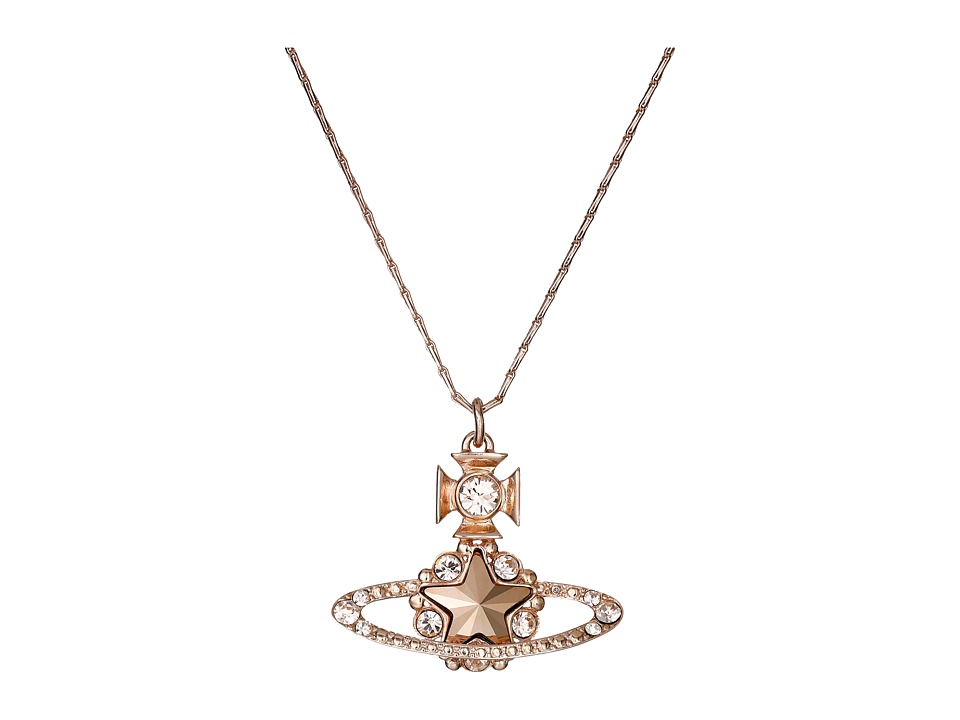 Vivienne Westwood - Astrid Pendant (Crystal Rose) Necklace