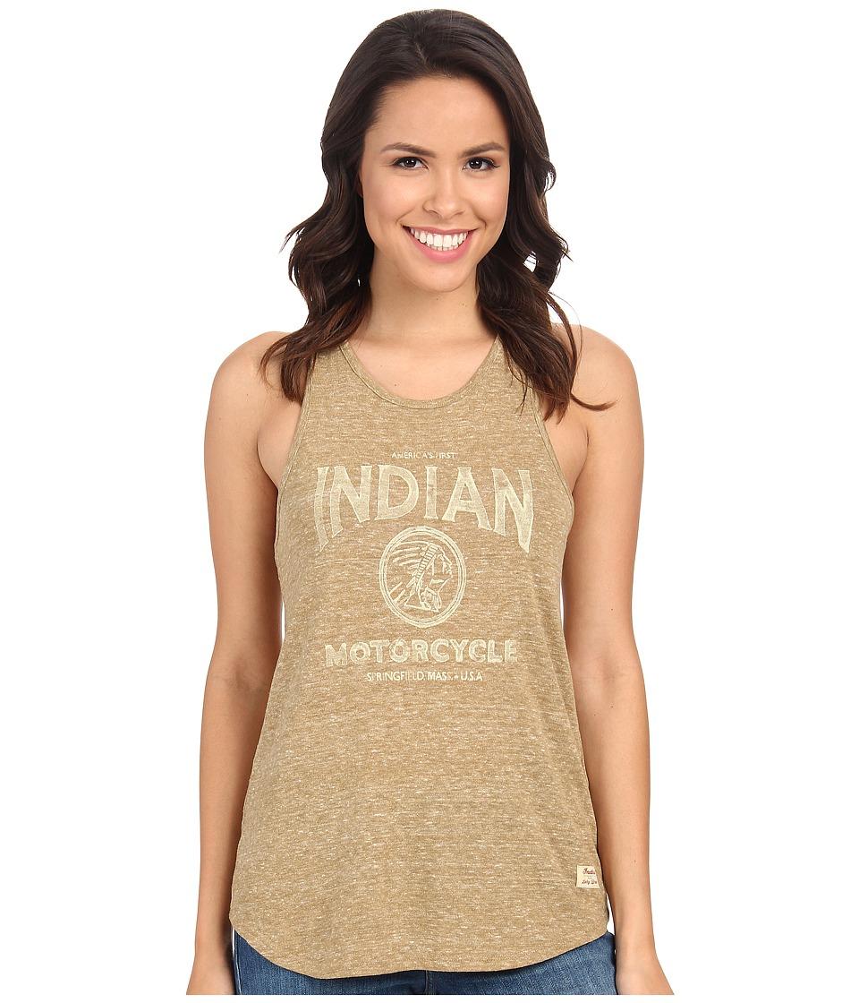 Lucky Brand - Indian Moto Tank Top (Breen) Women's Sleeveless