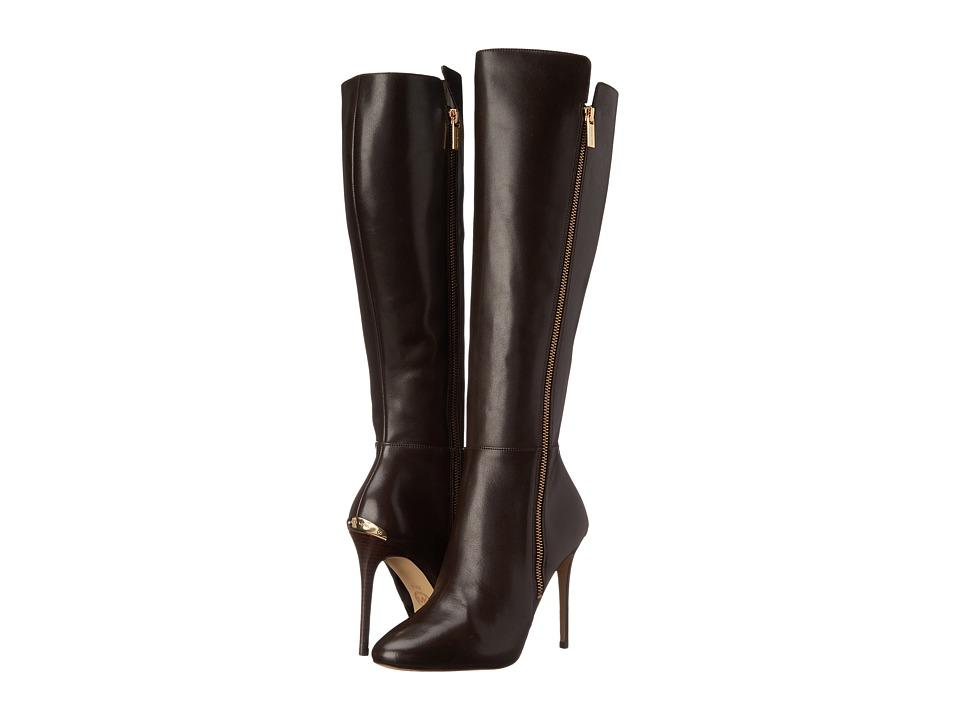 MICHAEL Michael Kors - Clara Boot (Dark Chocolate Smooth Calf) Women