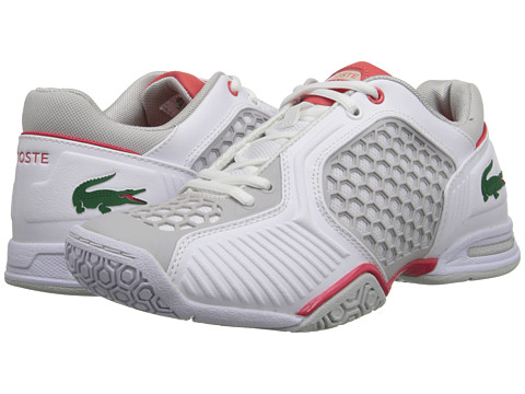 Lacoste - Repel TE (White/Red) Women's Shoes