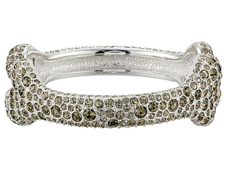 Vivienne Westwood - Bone Bangle Bracelet (Black Diamond) Bracelet