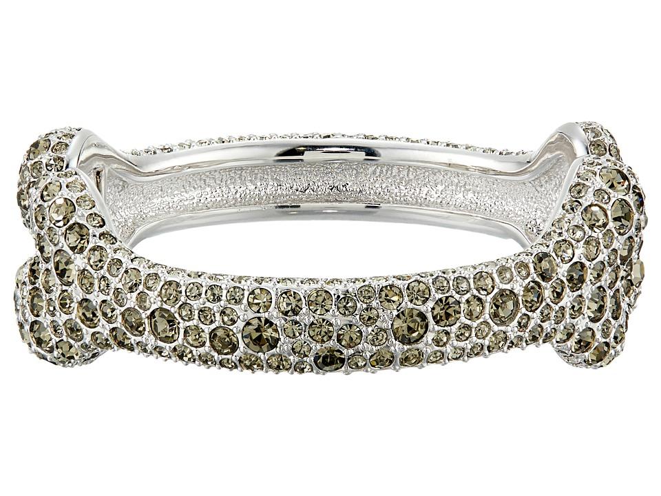 Vivienne Westwood - Bone Bangle Bracelet (Black Diamond) Bracelet