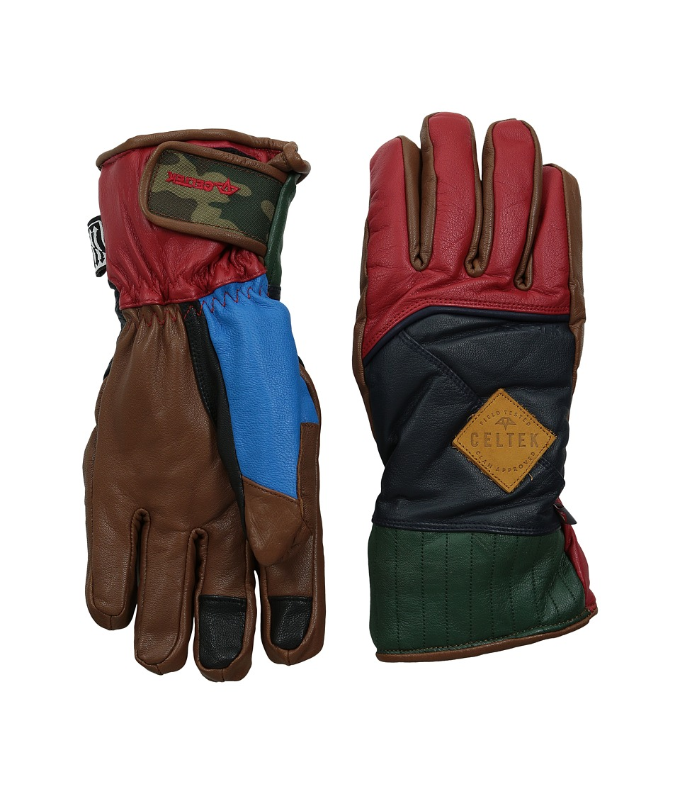 Celtek - Aviator (Motley) Snowboard Gloves