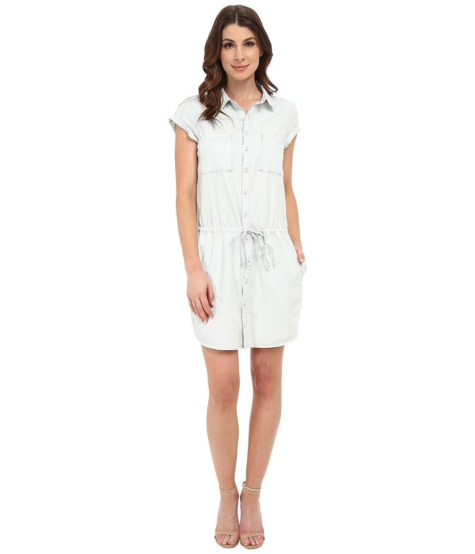 Paige - Mila Shirtdress (Icy Blue) Women's Dress