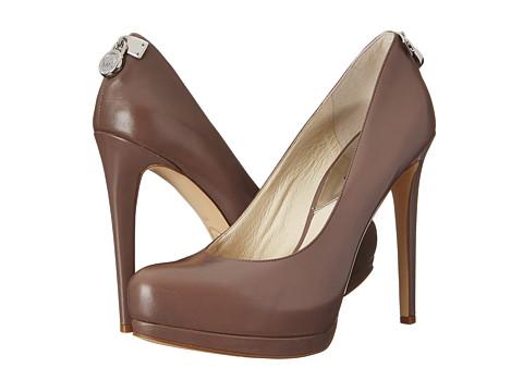 MICHAEL Michael Kors - Hamilton Pump (Cinder Smooth Calf) High Heels
