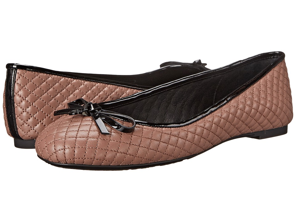 MICHAEL Michael Kors - Melody Quilted Ballet (Dusty Rose Nappa) Women's Flat Shoes