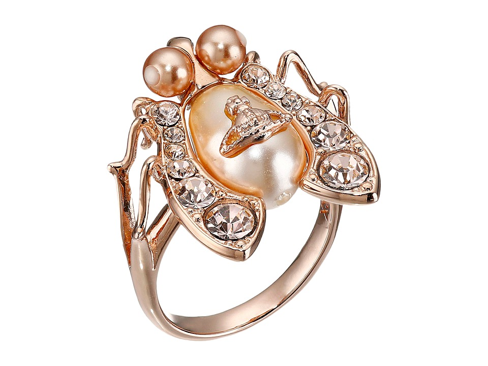 Vivienne Westwood - Gillian Ring (Peach Pearl/Gold) Ring